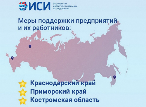 Кубань заняла первое место среди регионов по мерам поддержки предприятий и их работников в период пандемии коронавируса