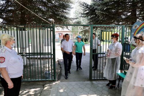 Вениамин Кондратьев принял участие во всероссийском голосовании по поправкам в Конституцию РФ