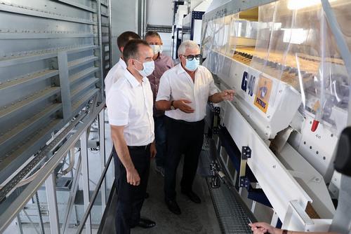 На Кубани заработал уникальный центр комплексной подготовки семян к посеву