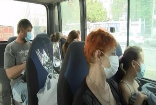 Маска в общественном транспорте обязательна