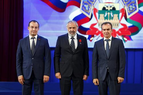 Вениамин Кондратьев вручил государственные награды выдающимся жителям региона
