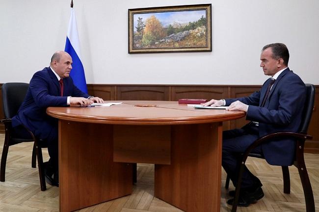 Глава Правительства РФ пообещал помочь Кубани с закупкой машин скорой помощи