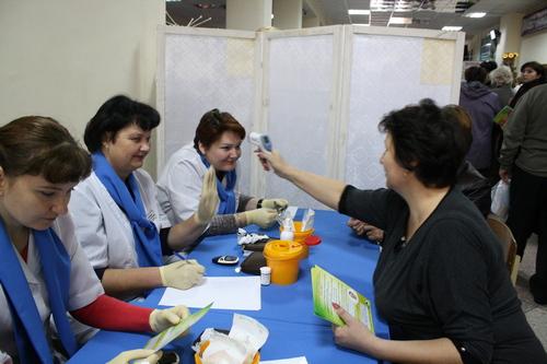 «Неделя женского здоровья» прошла в районе