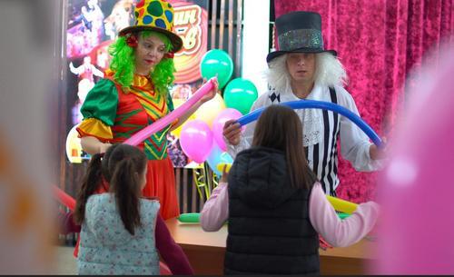 В Краснодарском цирке прошло представление для восьмилетней девочки