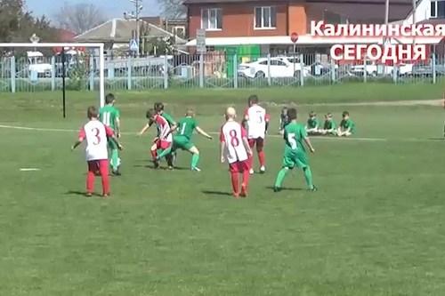 Футбольный турнир среди детских команд
