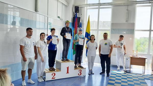 Детские соревнования по плаванию В Калининском спортивном центре «Дельфин»