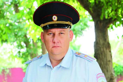 Самый опытный сотрудник ППС района — Евгений Александрович Жученко