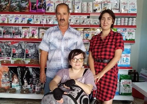 Помог инвалиду-колясочнику