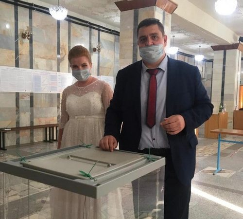 Сергей и Марина Шмуль — молодожёны