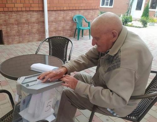 Иван Яковлевич Соловьев принял участие в голосовании